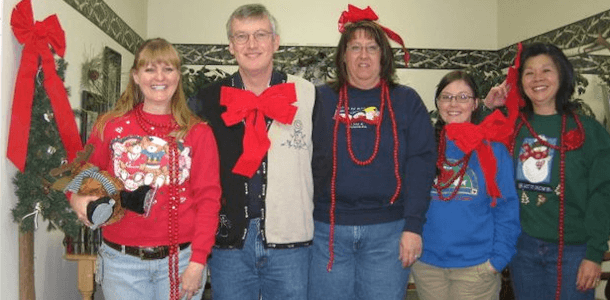 The Insurance Group Ugly Sweater